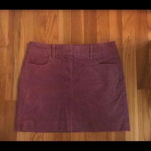 J. Crew Stretch Corduroy Skirt Size 2